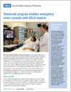 UCLA Health System Clinical Update: Telestroke program enables emergency video consults.